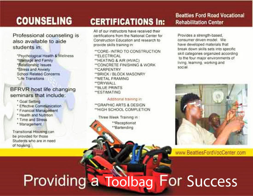 About Us Beatties Ford Road Vocational Trade Center Inc Center